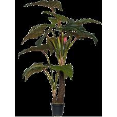 Алоказия дерево / Alocasia растение искусственное