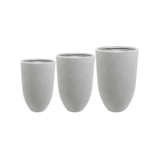 Ace Vase Grey (set of 3)