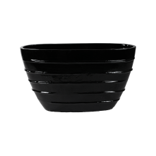 Beauty Oval Black Shiny
