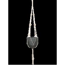 Bagdad Rope For Hanger White (pot diam. 10 - 21 cm)