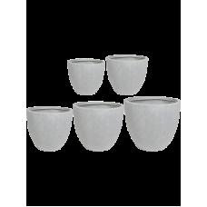 Ace Pot Grey (set of 5)