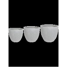 Ace Pot Grey (set of 3)