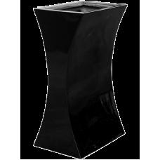 Livingreen Curvy sophia 1 polished jet black