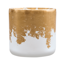 Luxe Lite Glossy Cylinder white-gold