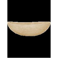Polystone Plain Boat Natural