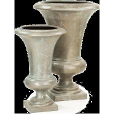 Amphora Vase Verdrigris-bronze
