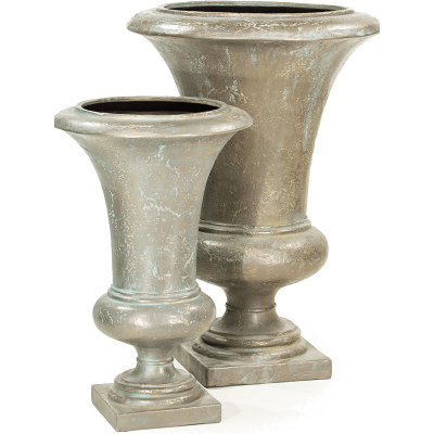 Кашпо Amphora Vase Verdrigris-bronze