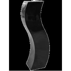 Livingreen Curvy S2 polished jet black