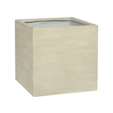 Cement Block M Vertical Beige Washed