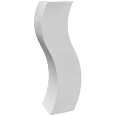 Livingreen Curvy S2 polished brilliant white