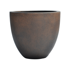 Egg Pot Rusty Iron-concrete