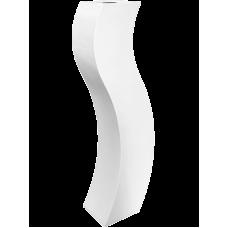 Livingreen Curvy S3 polished brilliant white