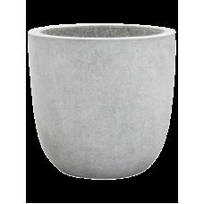 Capi Lux Egg planter V light grey