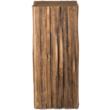Column Teak rough
