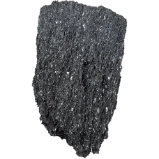 Decostone Vulkanic rock black/kg. big