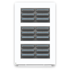 Divider two-sided white