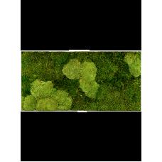 Stiel L RAL 9010 30% ball- and 70% flat moss