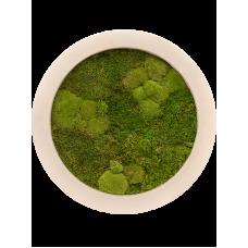 Natural 30% ball- and 70% flat moss