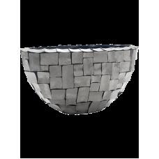Oceana Steel Oval Grey
