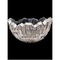 Oceana Steel Bowl Grey