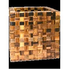 Bananaplanter Cube Braun