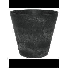 Artstone Claire pot black