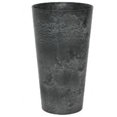 Artstone Claire vase black