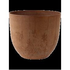 Artstone Bola Pot Oak