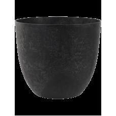 Artstone Bola Pot Black